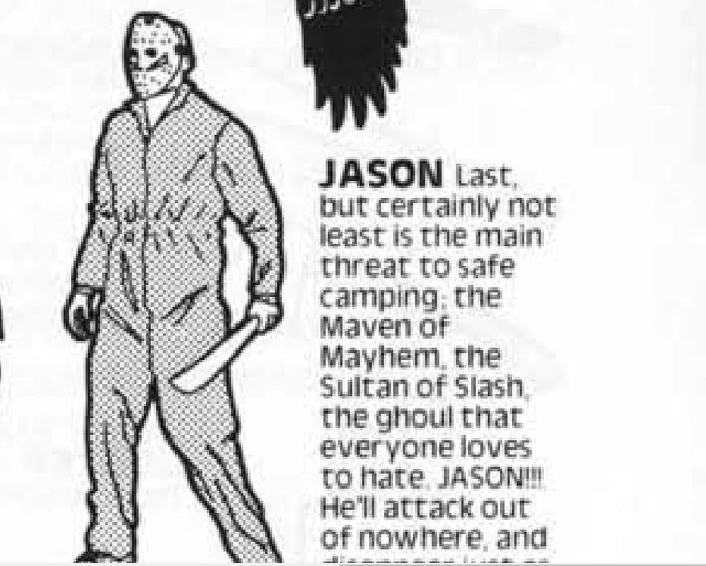 Jason Friday the 13th NES User Guide.